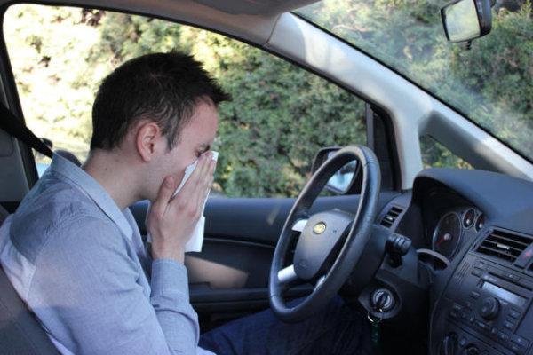 Alergia y Astenia: fastidiando también al volante