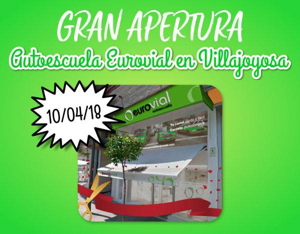 Abrimos nueva autoescuela en Villajoyosa